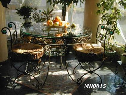 Фото 6. Садовая кованая мебель