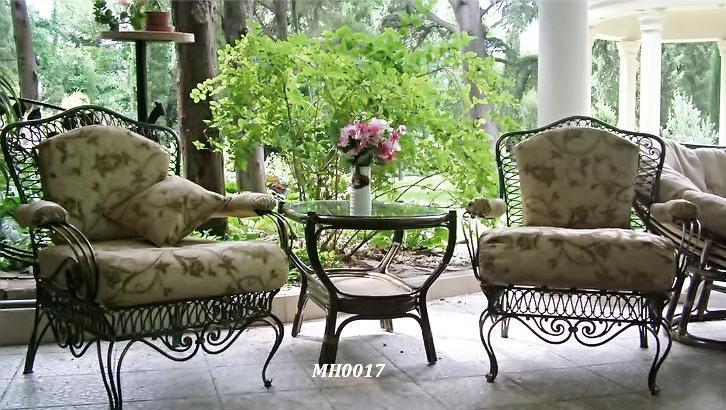 Фото 7. Садовая кованая мебель