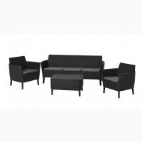Salemo 3 Seater Set голландська мебель из искусственного ротанга
