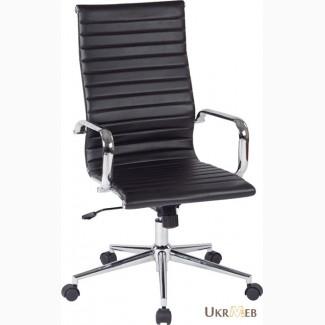 Кресло офисное Алабама Н NEW, серое, белое