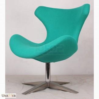 Кресло Папилио Шерсть (Papilio Wool) поворотное для зон ожидания дома офиса, салона студии