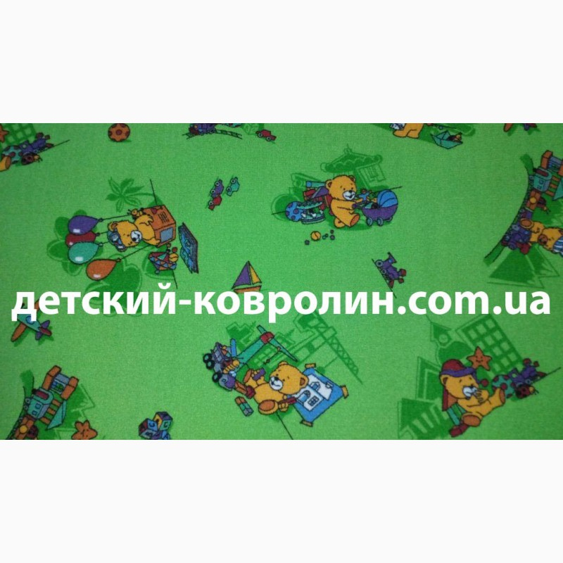 Фото 2. Детский ковролин с рисунком. Ковры детские