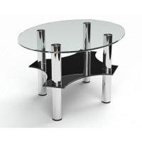 Стеклянный журнальный стол Росарио