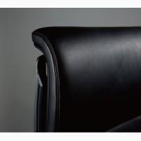 Кресло OKAMURA DUKE Кожаное Черное