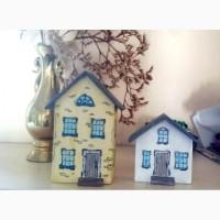 Декоративные интерьерные домики из дерева
