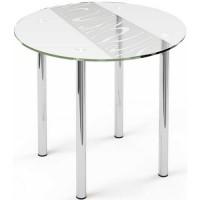 Стеклянный обеденный стол R3 D 110