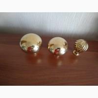 Латунь, латунные декоративные шары, верхушки латтуные