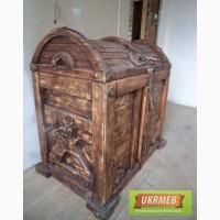 Сундук деревянный декоративный