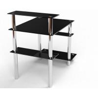 Стеклянный компьютерный стол Веста