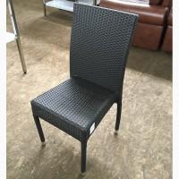 Стул из ротанга б/у, мебель для кафе б/у, летняя мебель