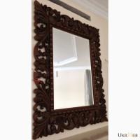 Зеркало в резной раме. мебель, двери