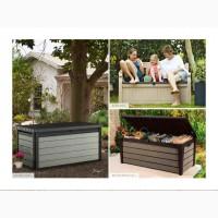 Садові ящики і чулани для саду, балкон або тераси Allibert, Keter Голландія