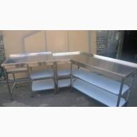 Столы разделочные из нержавеющей стали
