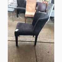 Бу стул велюр черный для кафе, баров, ресторанов