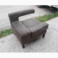 Кресла б/у в кафе, серые кресла, мягкая мебель бу для ресторана бара