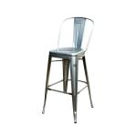 Металличекий высокий барный стул Толикс Высокий, H-76см (Tolix High H-76cm) купить Украина