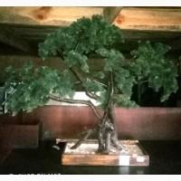 Дерево Бонсай б/у большое искусственное