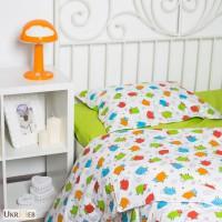 Комплекты постельного белья в кроватку для новорожденных, Овечки цветные