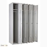 Шкафы металлияческие для раздевалок ПРАКТИК LE-41