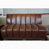 Продажа кожаных диванов б/у для ресторанов, кафе, пиццерий