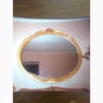 Настенное зеркало заказать с рисунком в раме, с подсветкой, фацетом