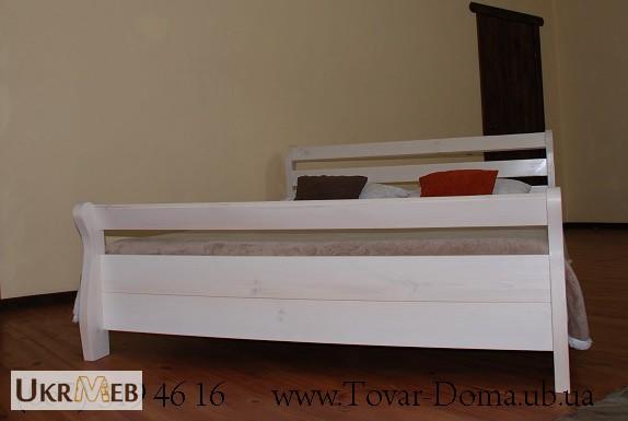 Фото 2. Деревянная Двуспальная Кровать Лори