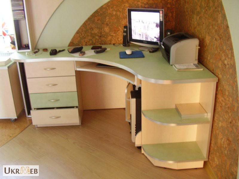 Фото к объявлению: компьютерные столы под заказ - ukrmeb.