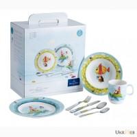 Немецкая детская посуда Villeroy Boch коллекция Chewy around the world
