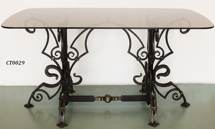 Фото 11. Кованый кофейный стол