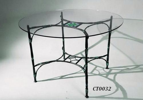 Фото 12. Кованый кофейный стол
