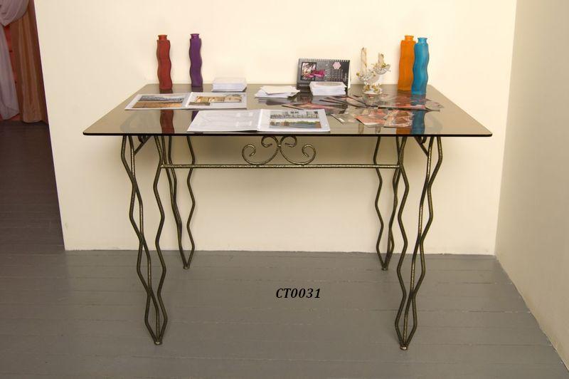 Фото 17. Кованый кофейный стол