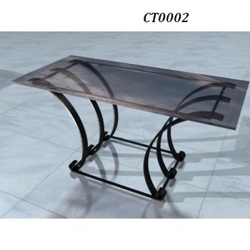 Фото 18. Кованый кофейный стол