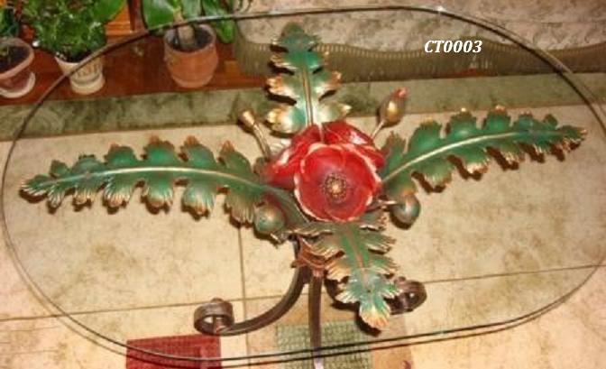 Фото 20. Кованый кофейный стол