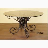 Кованый кофейный стол