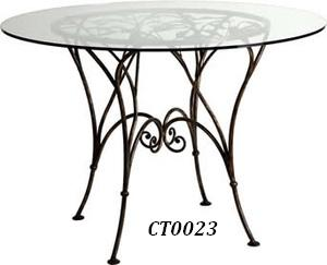 Фото 5. Кованый кофейный стол