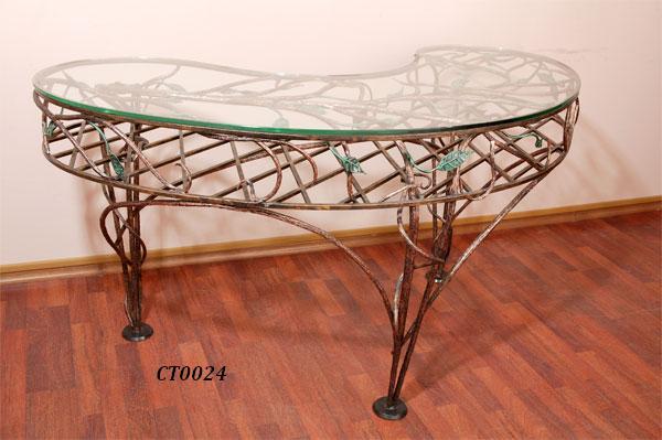 Фото 6. Кованый кофейный стол