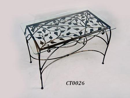 Фото 8. Кованый кофейный стол