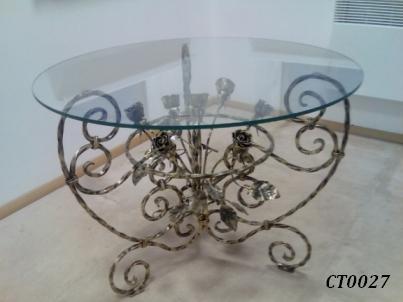Фото 9. Кованый кофейный стол