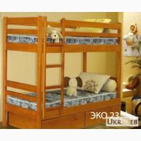 Кровать двухъярусная от производителя. Кровать двухъярусная ЭКО 22, ЭКО 23