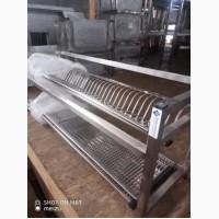 Полка - сушка двойная XXL нержавеющая сталь (AISI 201)