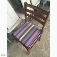 Продам деревянные стулья с подушками бу для кафе