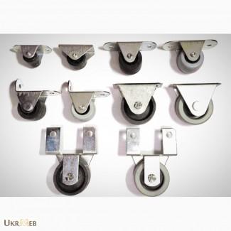 Мебельные ролики в ассортименте, производство