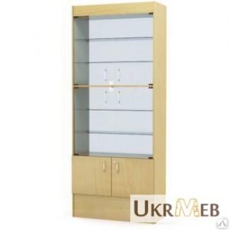 Шкаф-витрина торговая, изготовление на заказ, быстро, качественно