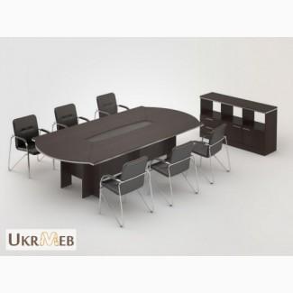 Конференц стол Ньюмен с тумбой