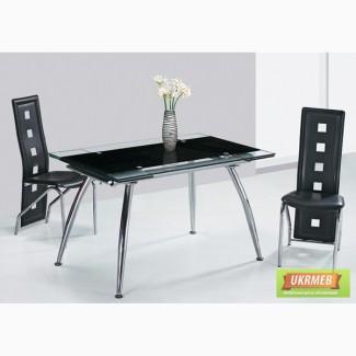 Кухонные стеклянные столы TB006 отзывы, кухонный стол раскладной TB006 Украина