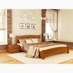 Деревянная двуспальная кровать Венеция Люкс Эстелла 160х200