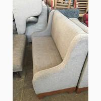 Распродажа диванов б/у для ресторанов и кафе серого цвета с подлокотниками