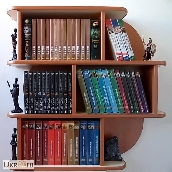 Фото к объявлению: полки для книг - ukrmeb.