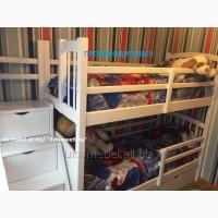 Кровать двухъярусная деревянная Форт, двоярусне (двоповерхове) ліжко