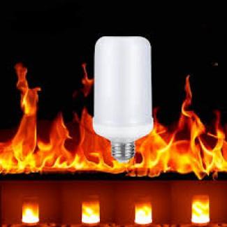 Лампа огонь